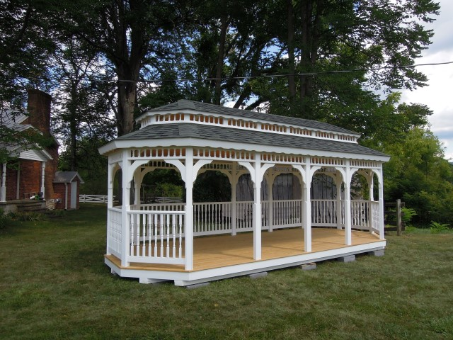 (Building #240) 10×24 Colonial Gazebo