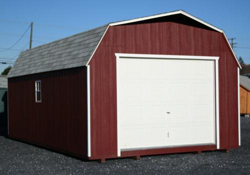Barn Style Garage