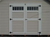 Transom Vinyl Doors