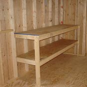2' Workbenches & Shelves