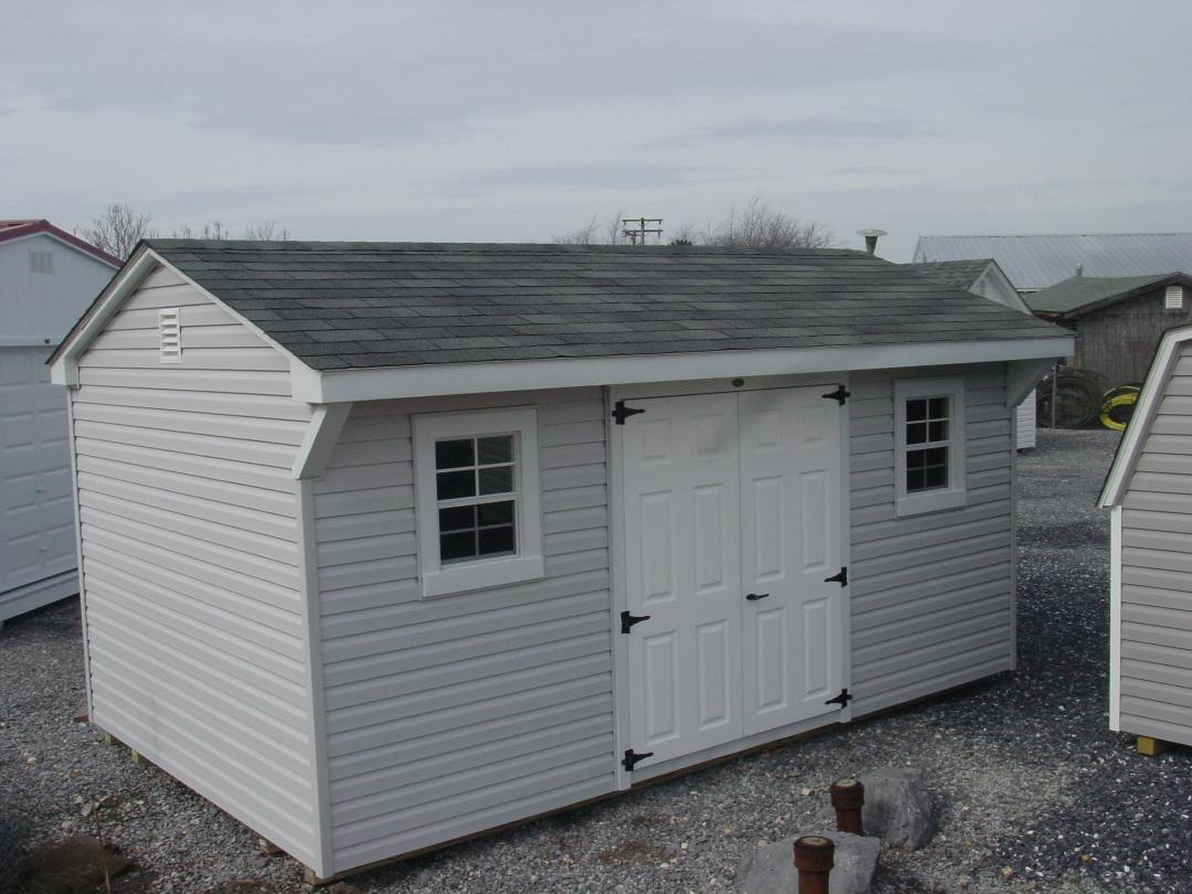 (Building #108) 10×16 Vinyl Carriage House