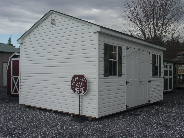 (Building #103) 12x16x8 Vinyl Cottage