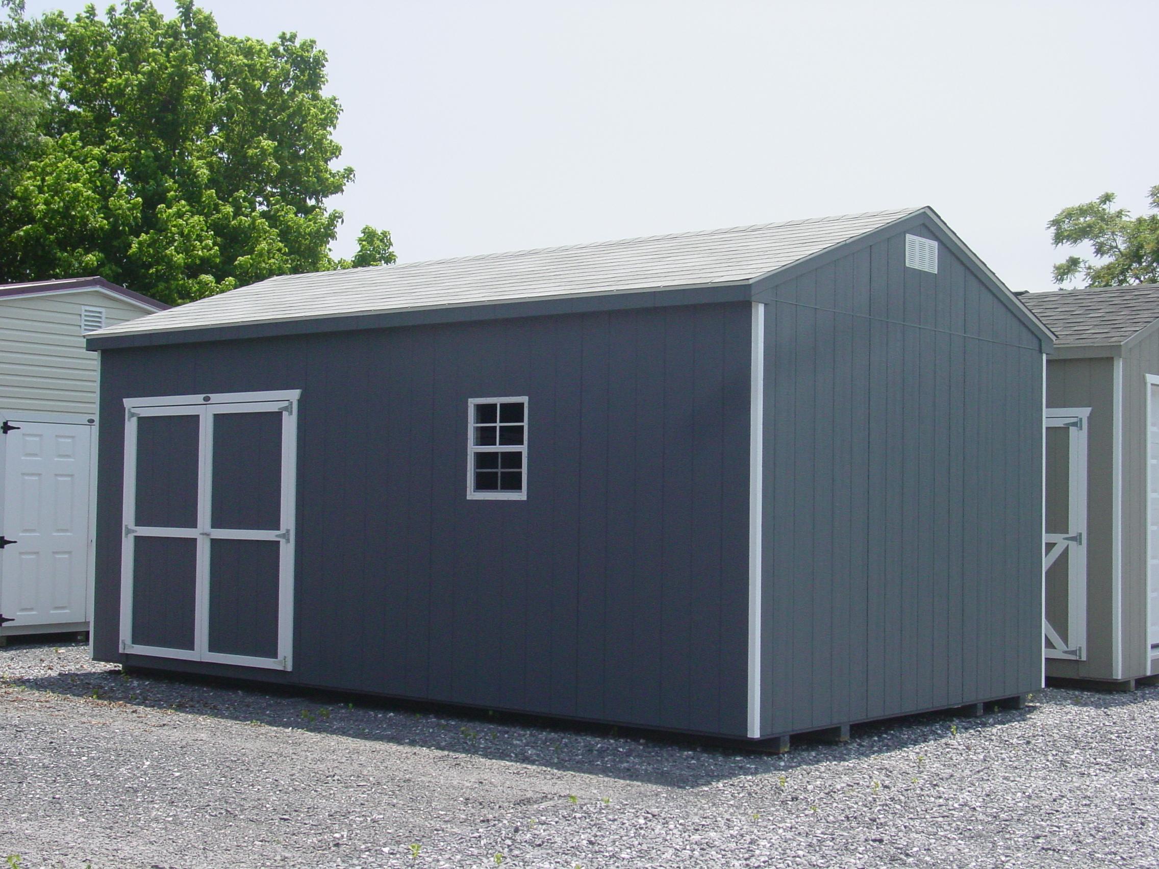 (Building #010) 12x20x8 Economy Cottage