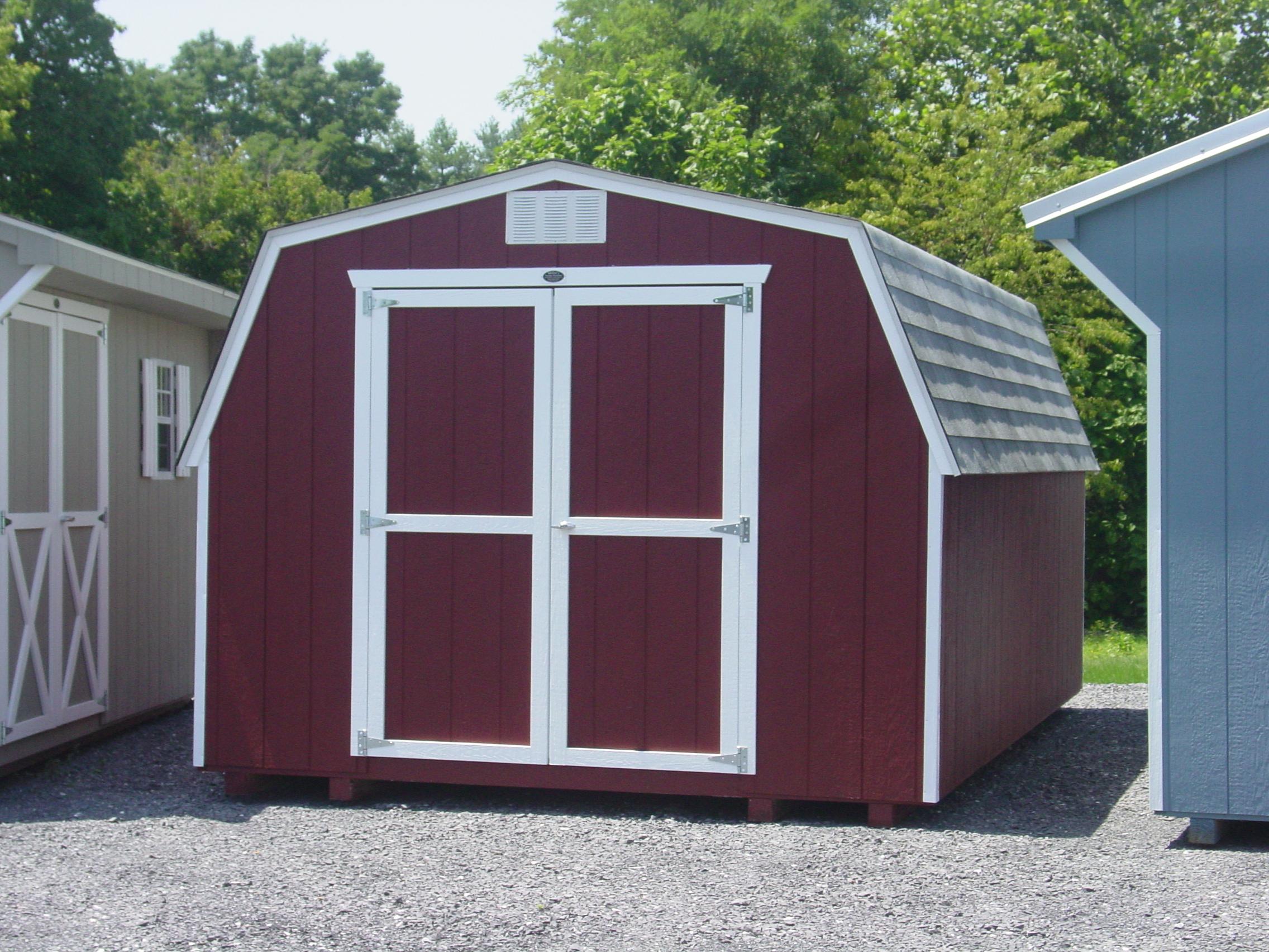 (Building #013) 10×16 Economy Barn