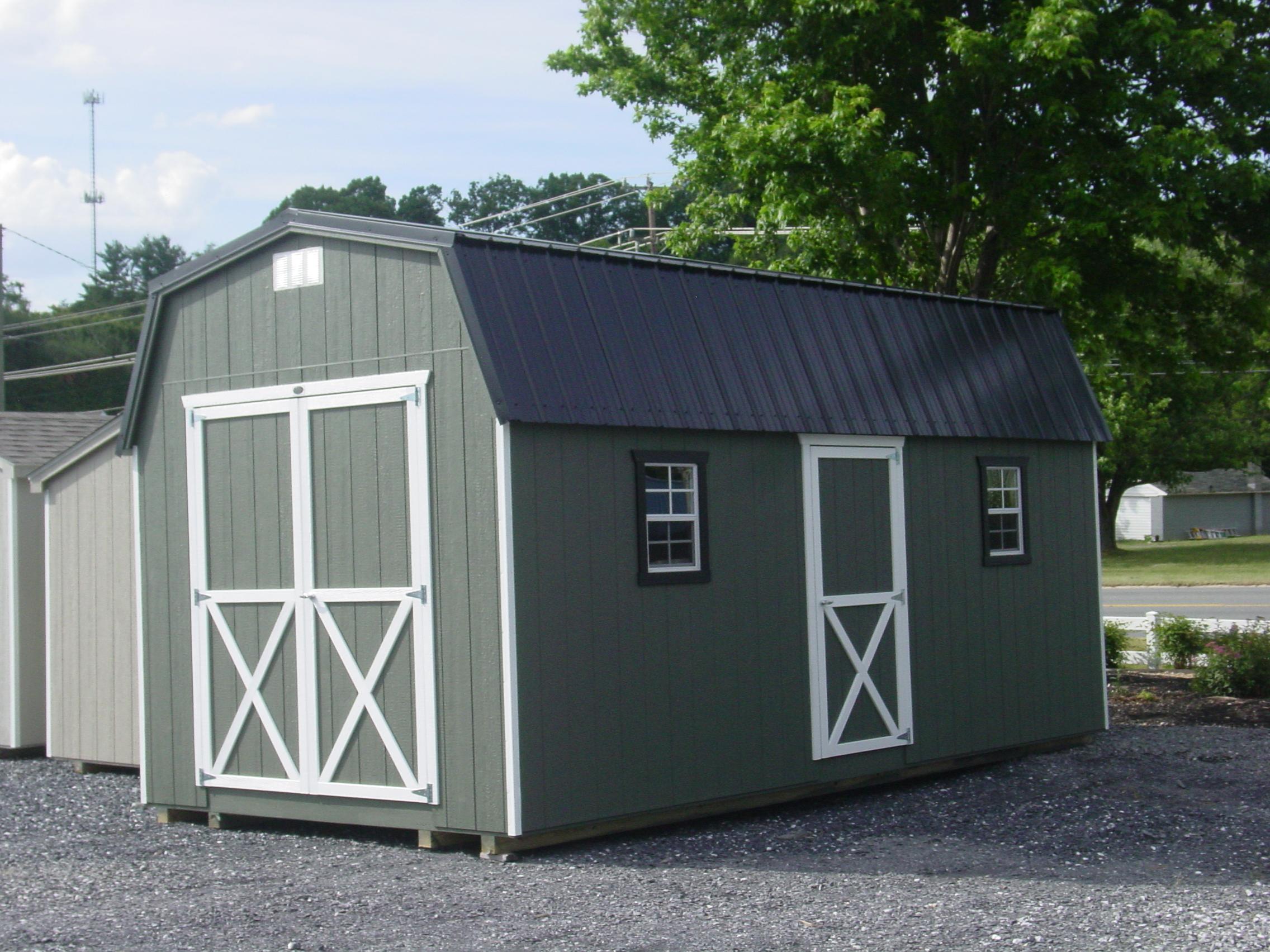 (Building #016) 10x20x7 Barn