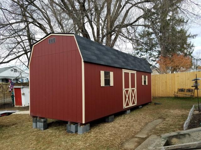(Building #207) 10x24x7 Barn