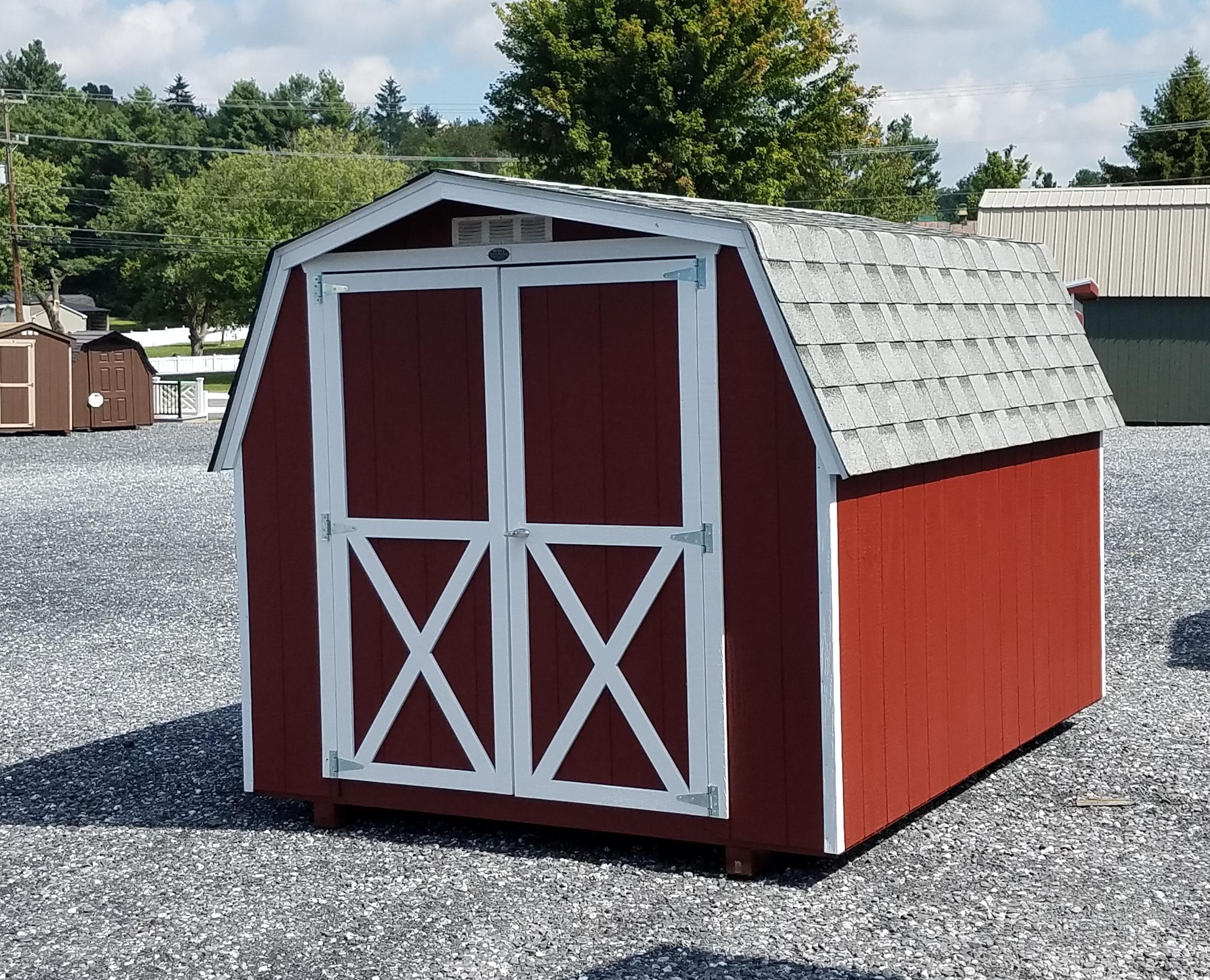 (Building #040) 8×10 Barn
