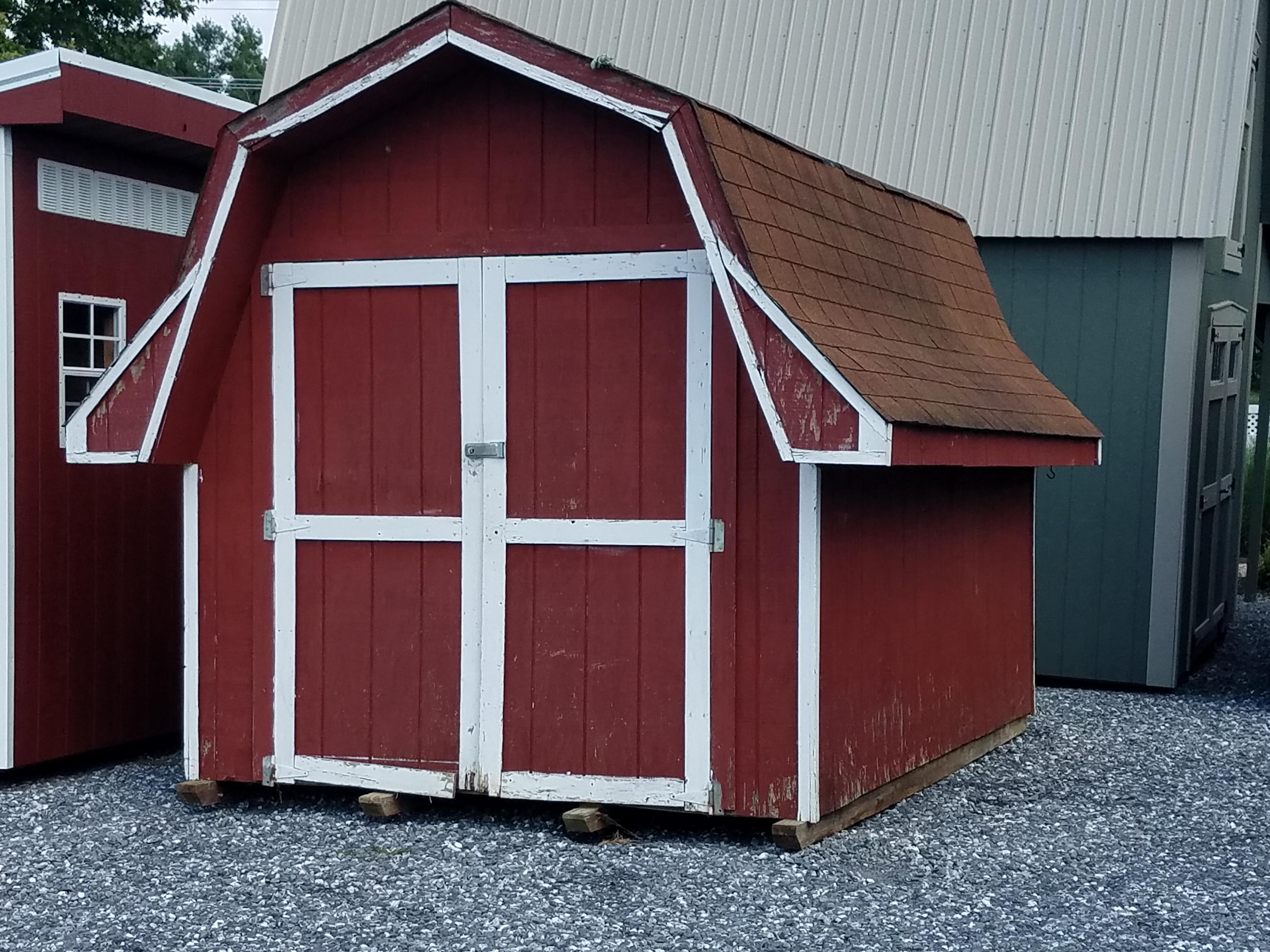 (Building #091) 8×12 Barn