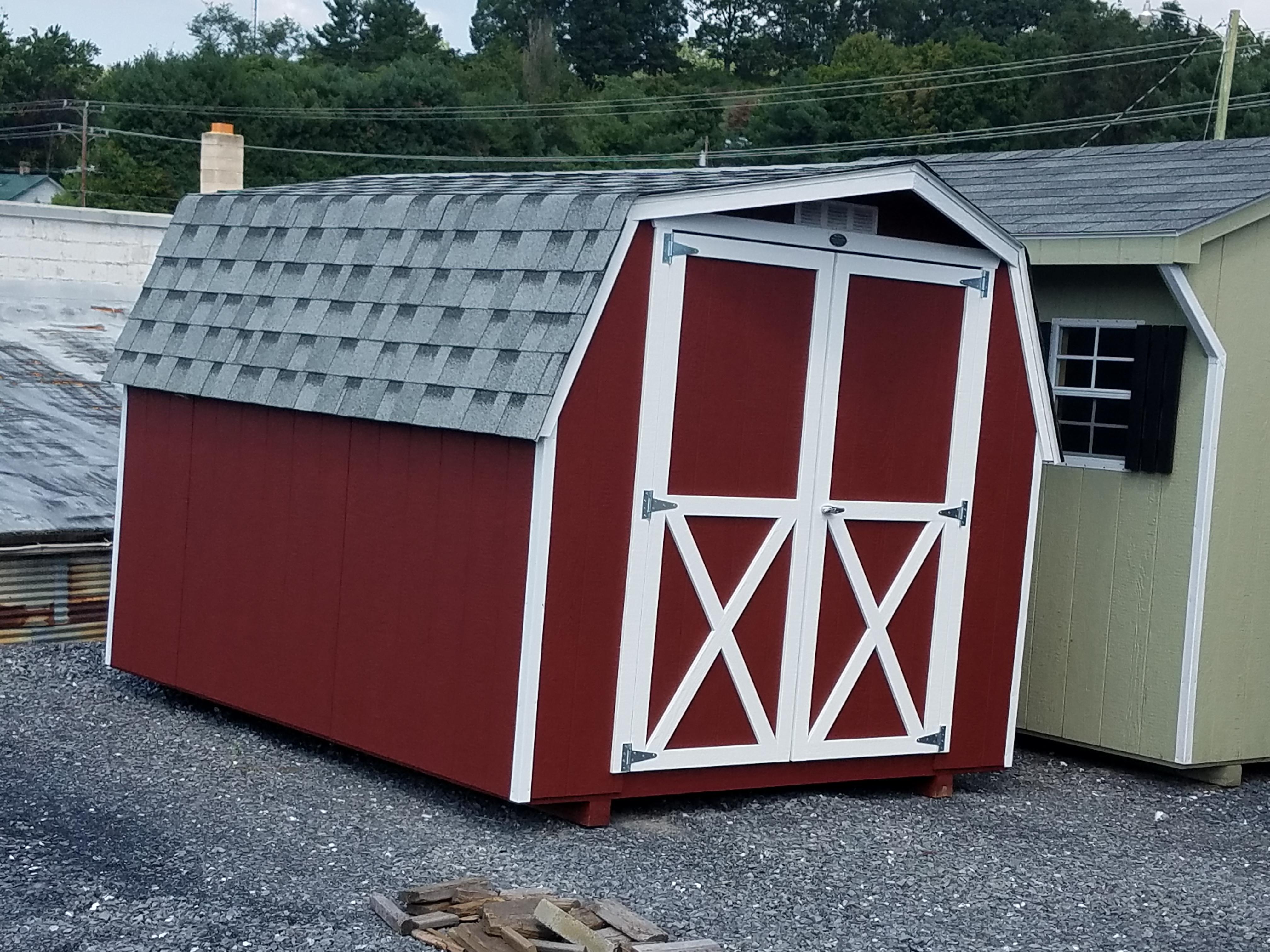 (Building #047) 8×10 Barn