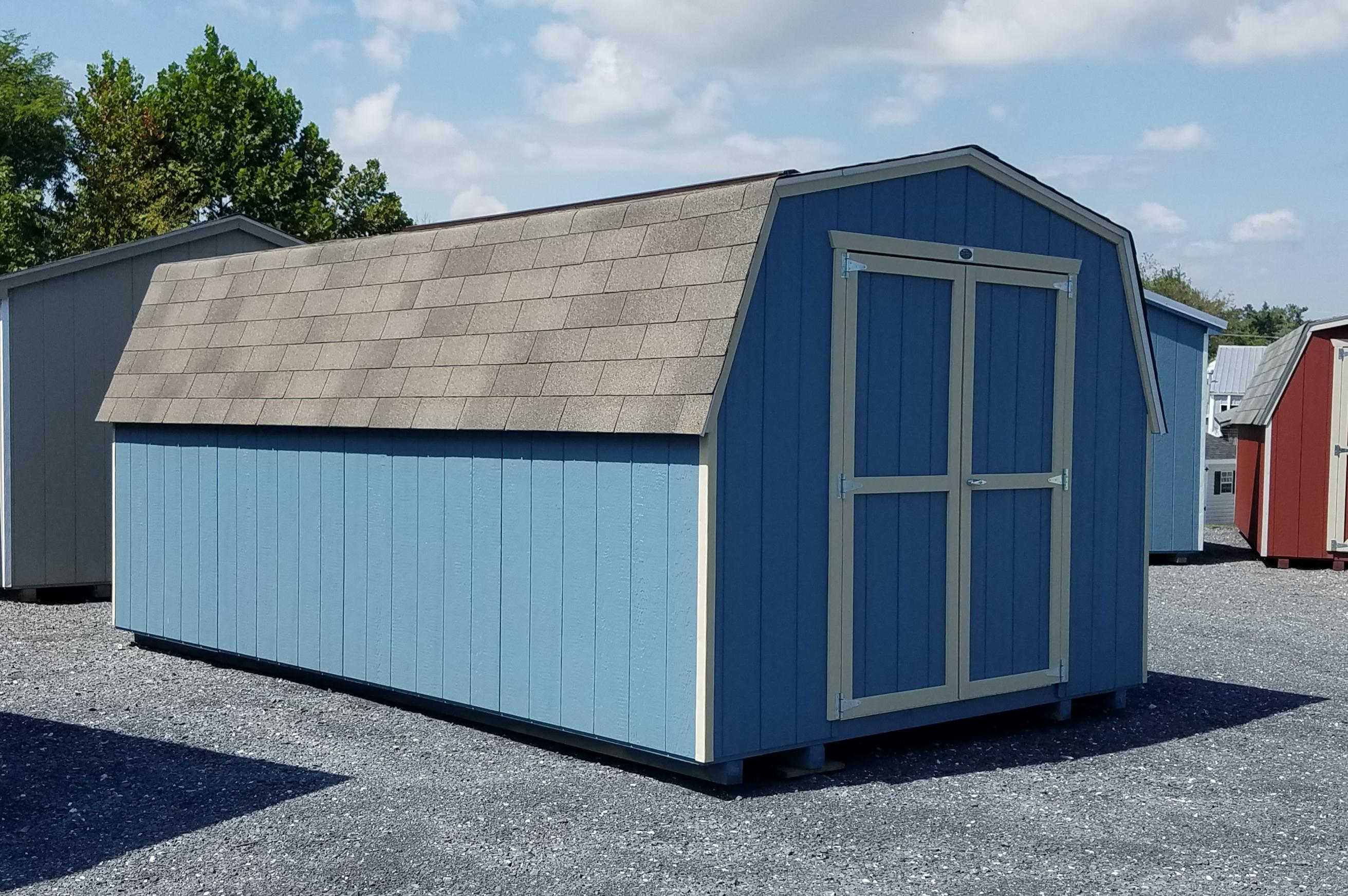 (Building #057) 10×16 Economy Barn