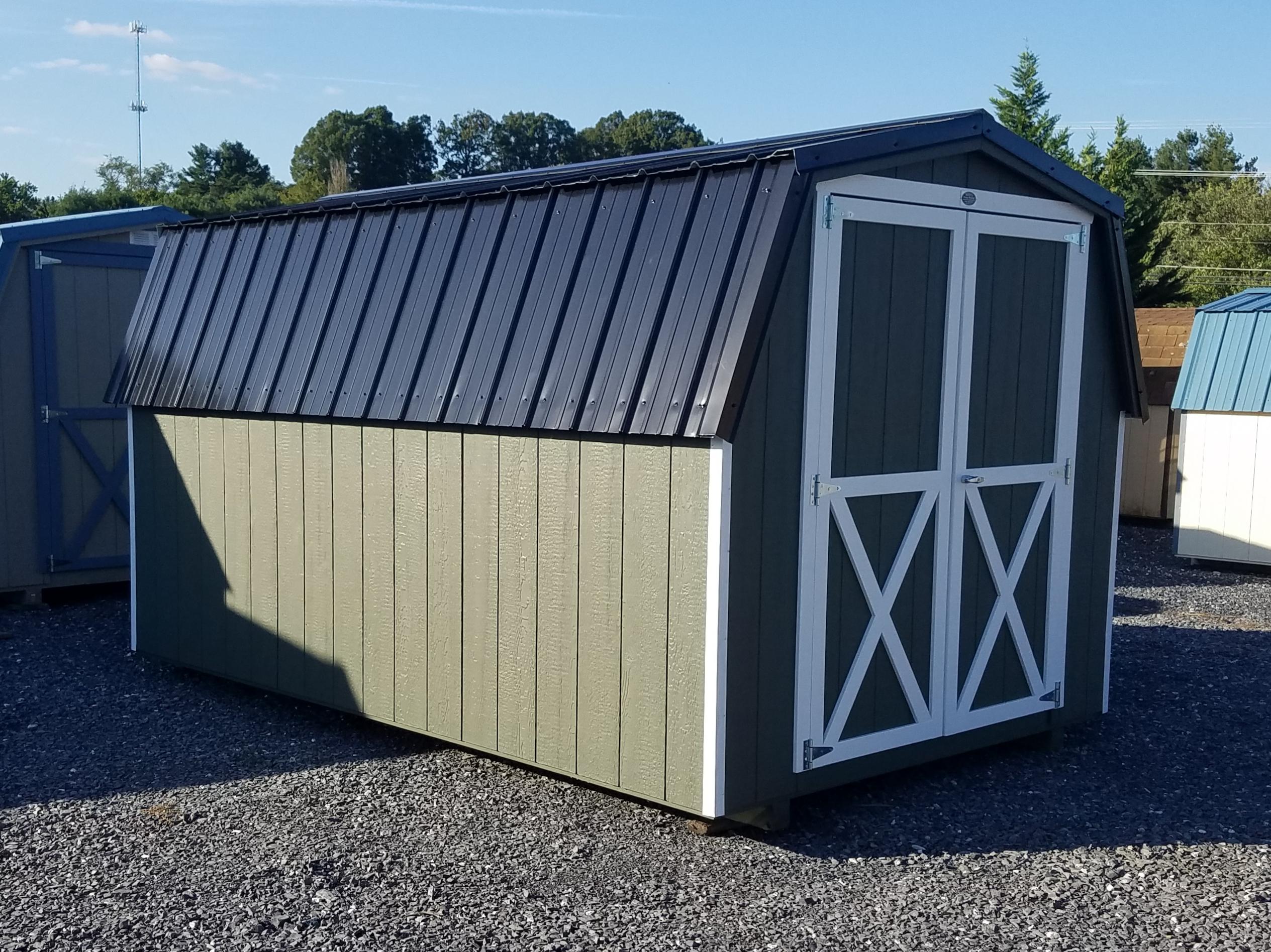 (Building #015) 8×12 Barn