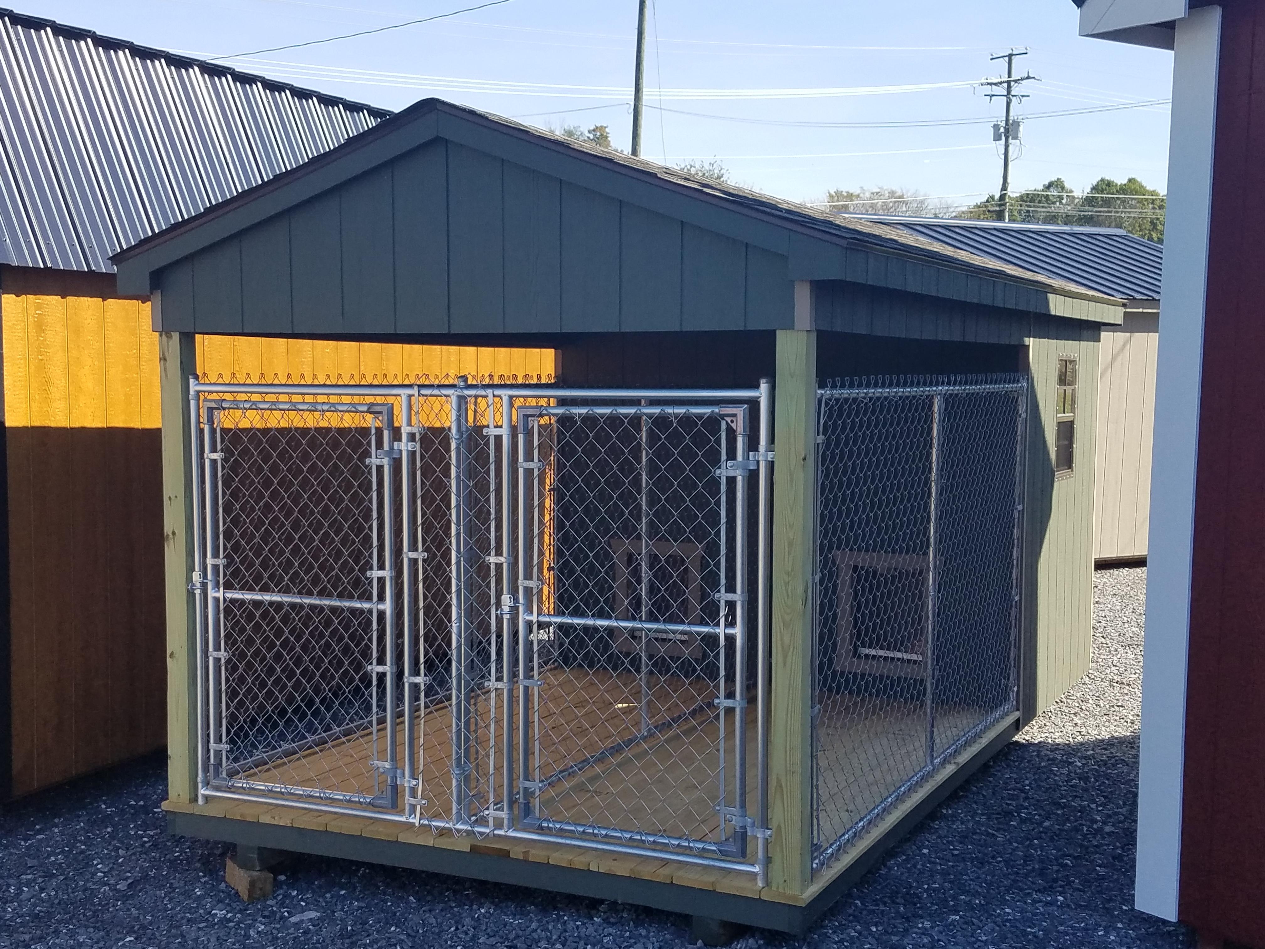 (Building #019) 8×16 Dog Kennel