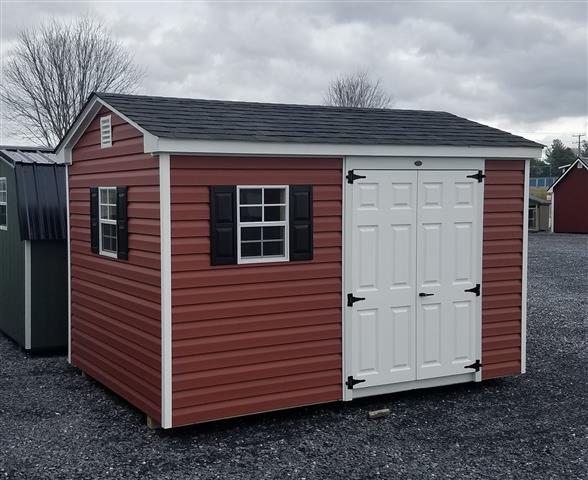 (Building #069) 8×12 Vinyl Cottage