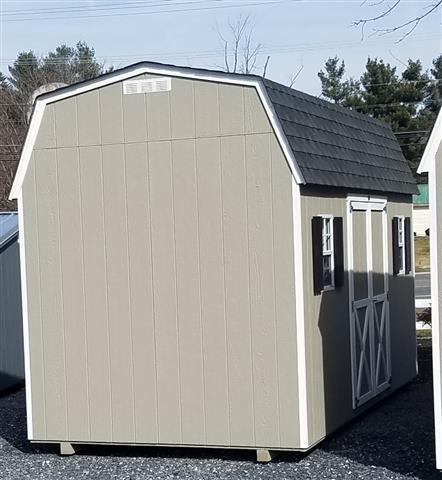 (Building #074) 8x16x7 Barn