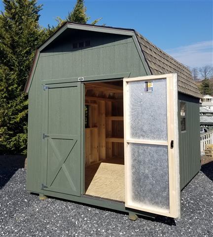 (Building #110) 8x12x6 Barn
