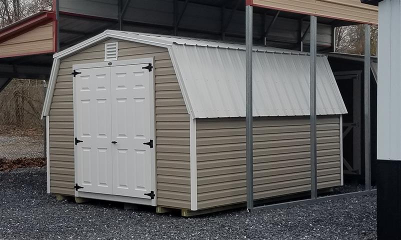(Building #082) 10×12 Vinyl Barn