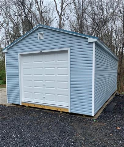 (Building #209) 14x24x8 Vinyl Cottage