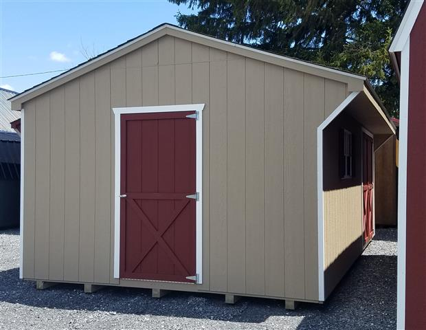 (Building #042) 12×20 Carriage House