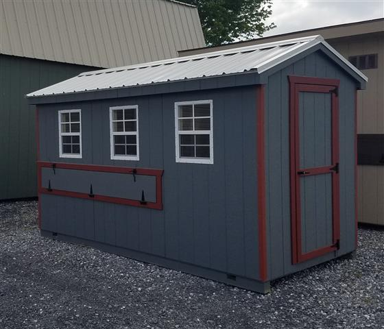 (Building #048) 6×12 Cottage Coop