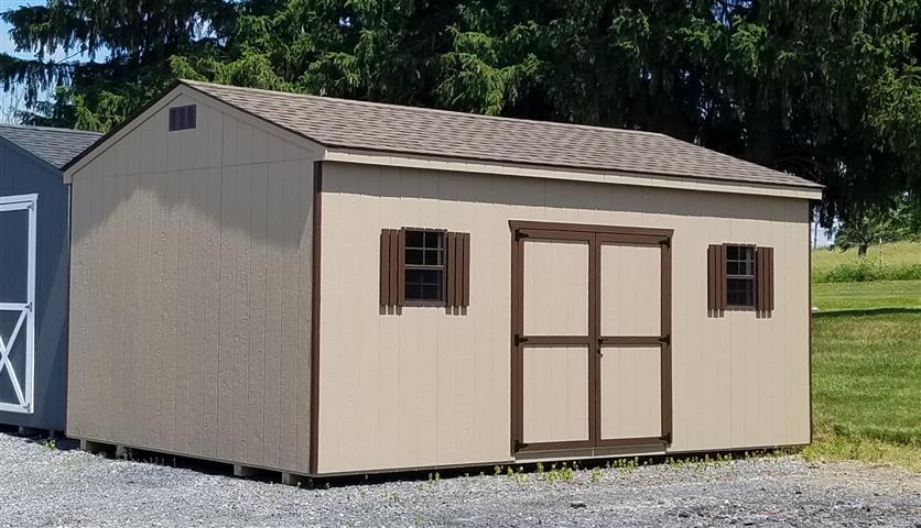 (Building #011) 12x20x8 Economy Cottage
