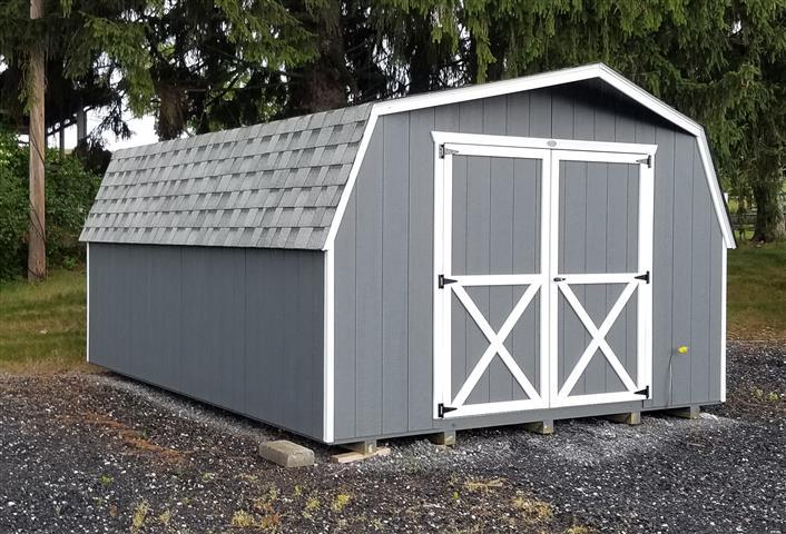 (Building #072) 12×16 Barn