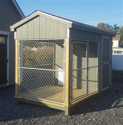 (Building #020) 6×10 Dog Kennel