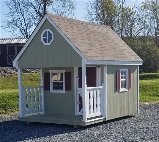 (Building #064) 8×12 Playhouse