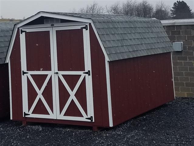 (Building #002) 8×12 Barn