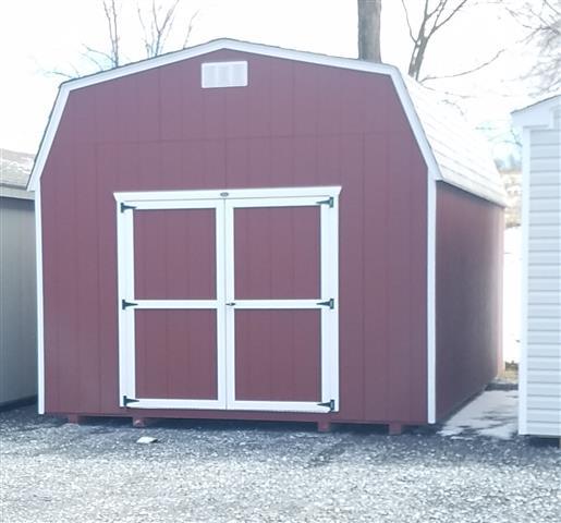 (Building #096) 12x20x7 Economy Barn