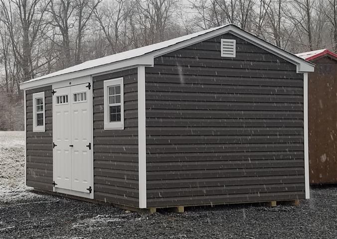 (Building #021) 10×16 Vinyl Cottage