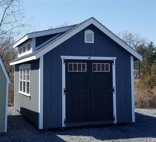 (Building #017) 10×16 Williamsburg Dormer