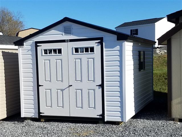 (Building #031) 10×14 Vinyl Cottage