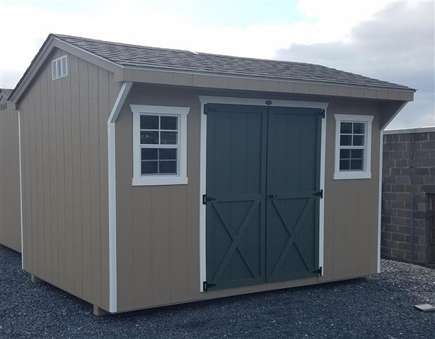 (Building #039)  8×12 Carriage House