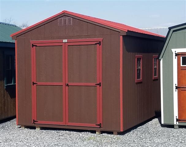 (Building #012) 10x16x8 Economy Cottage