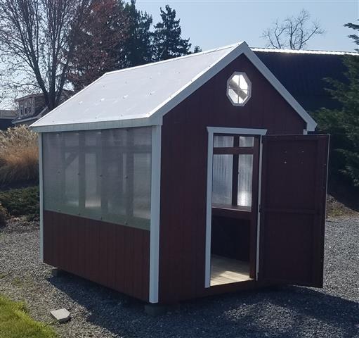 (Building #013) 8×10 Greenhouse