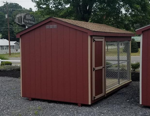 (Building #037) 8×14 Dog Kennel