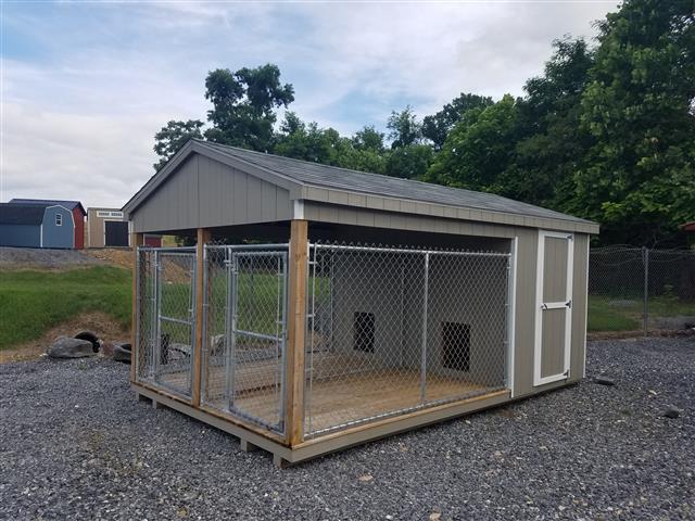 (Building #021) 10×16 Dog Kennel