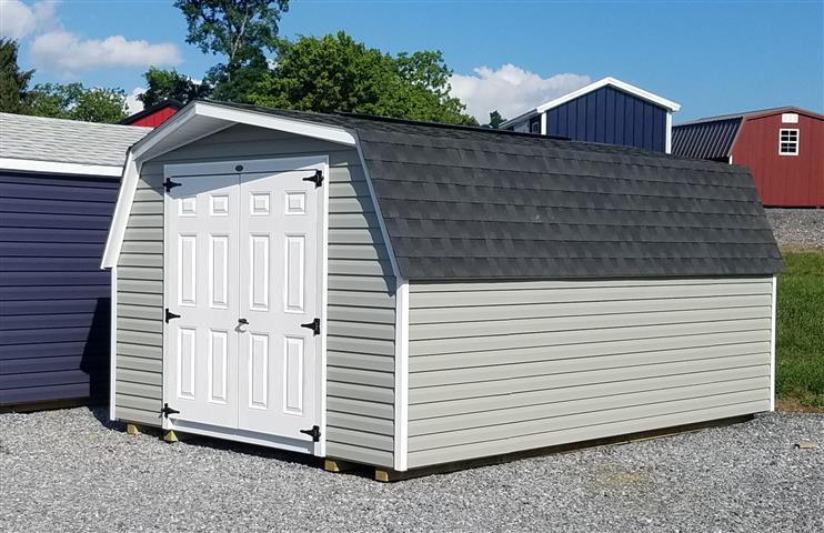 (Building #084) 10×16 vinyl Barn