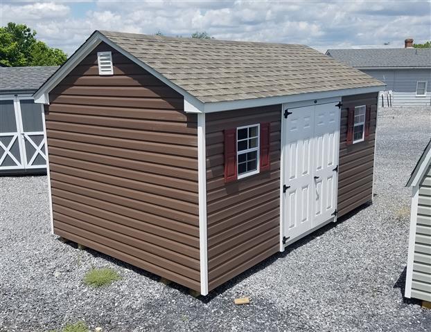 (Building #011) 10×16 Vinyl Cottage