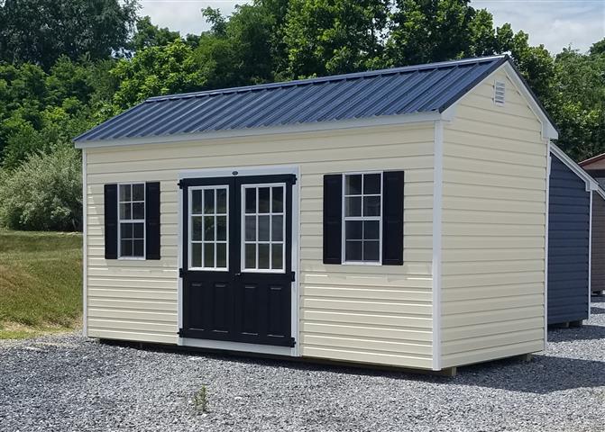 (Building #008)  8x16x8 Vinyl Cottage