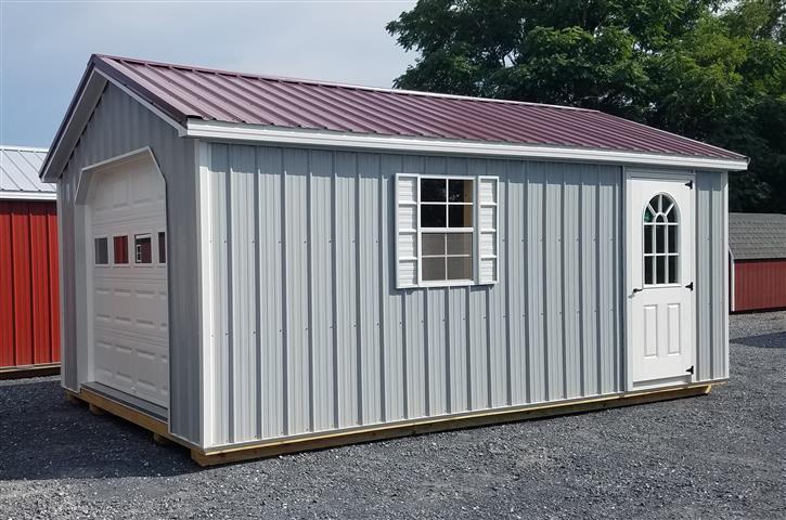 (Building #037) 12×20 metal Garage