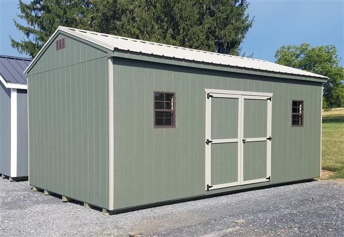(Building #038) 12x20x8 Economy Cottage