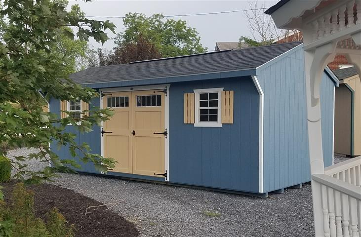 (Building #045) 12×20 Carriage House