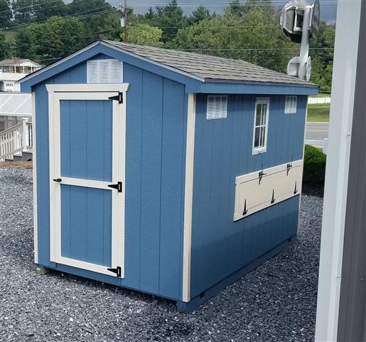 (Building #028) 6×10 Cottage Coop