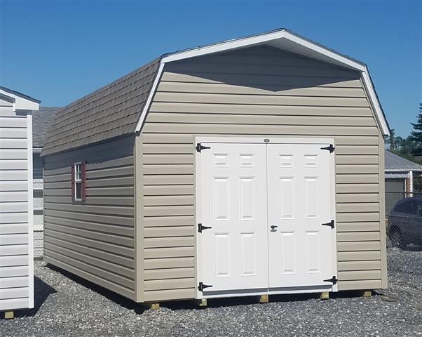 (Building #021) 12x20x7 Vinyl Barn