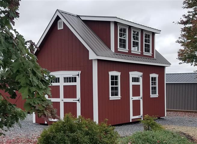 (Building #019) 12×20 Attic Cottage