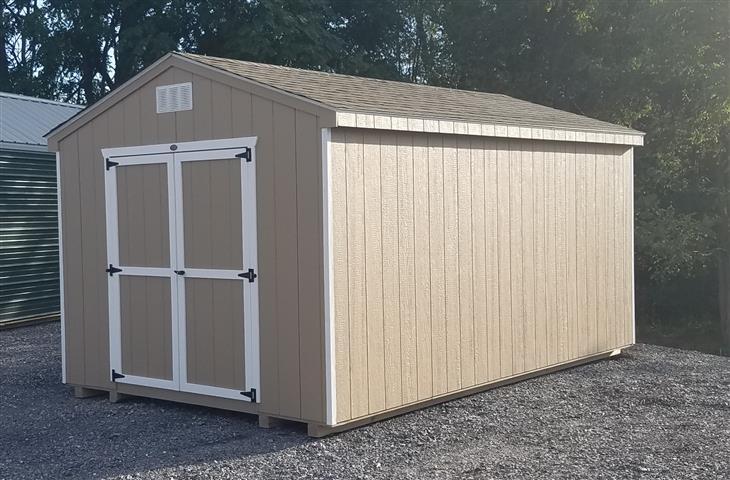 (Building #030) 10×16 Economy Cottage