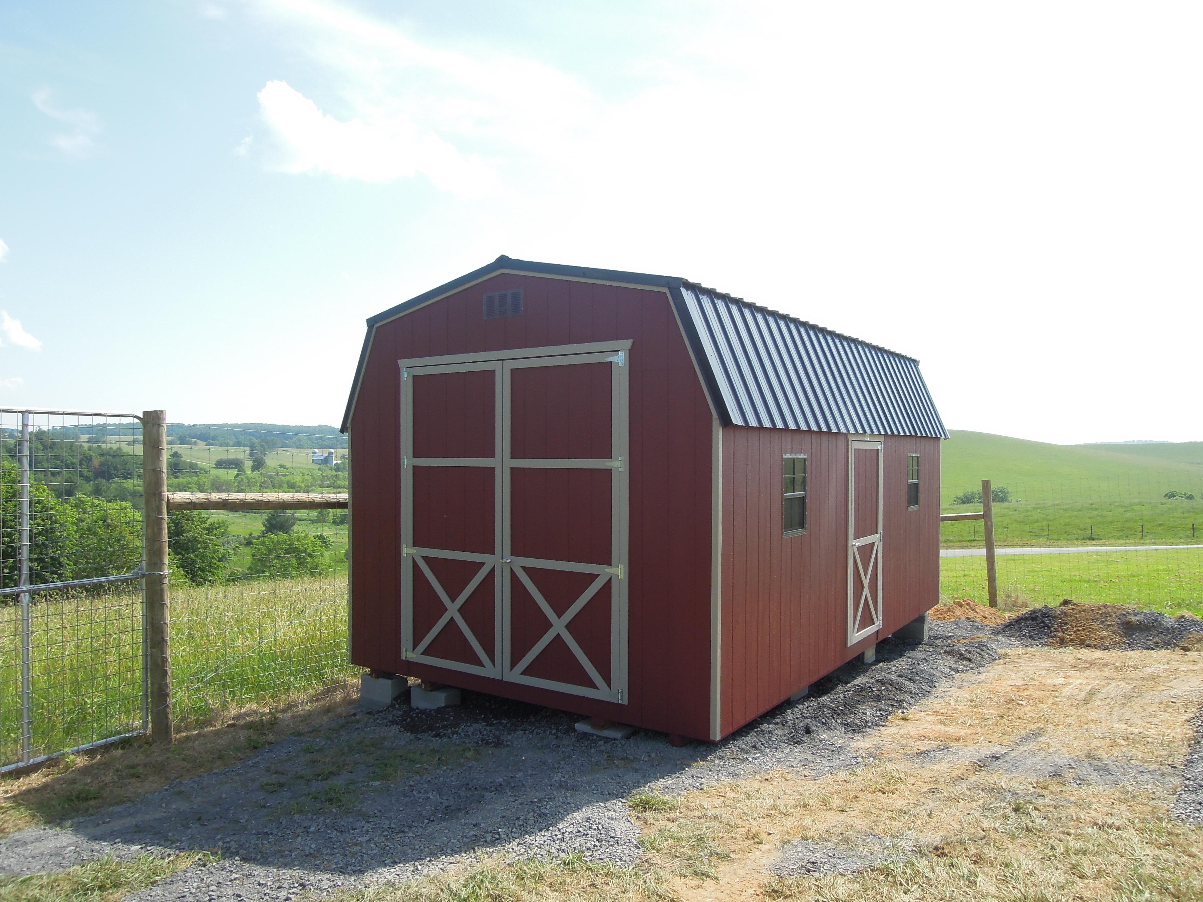 (Building #227) 12x20x7 Barn
