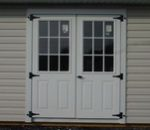 9 Lite Metal Doors
