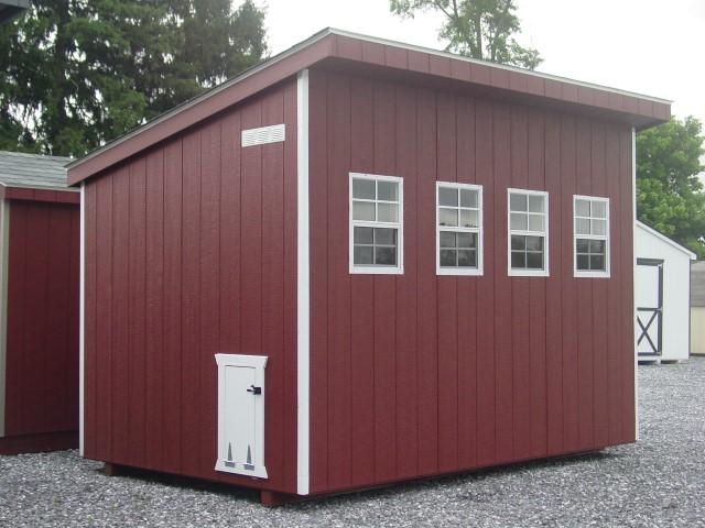 (Building #050) 8×12 Chicken Coop